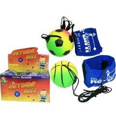 12998  BOUNCE-Ball mit ARM-Klettband