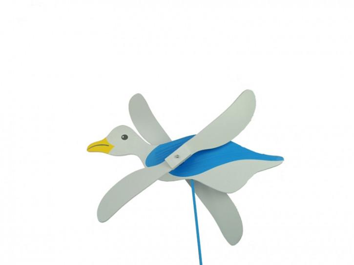 17154 Windmühle Ente groß 34cm 2sort