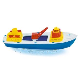 18255 Frachter 30x10x11cm schwimmt