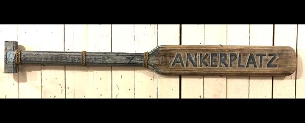 20501 Paddel ANKERPLATZ, Holz