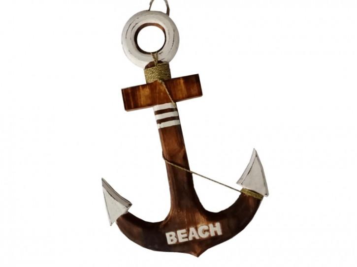 20526 Anker mit Tau 60x40cm - Beach