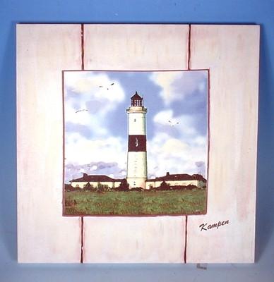 20901 Leuchturm Kampen 35x36cm