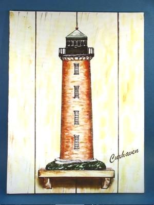 20904  Leuchtturm Cuxhaven 33x44cm