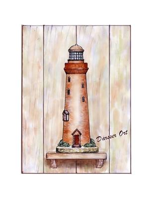 20905  Leuchtturm Darsser Ort 33x44cm