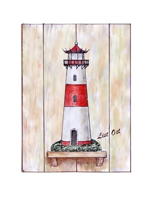 20907 Leuchtturm List Ost 33x44cm