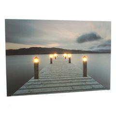 20968 Bild Steg, 6 LEDs, 60 x 40 cm
