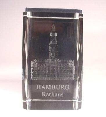 21228 Glasquader HAMBURG RATHAUS