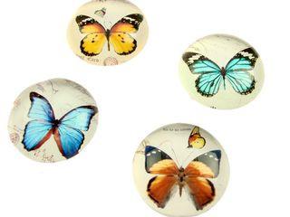 21304 Kristallglas Schmetterling