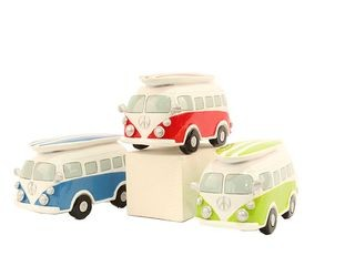 21455 Spardose VW Bus 3sort. 15cm