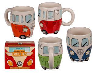 21456 Keramik-Becher, Camper Bus