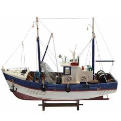 22030 Fischkutter 45cm mit Netz