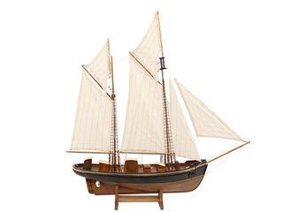 22036 Segelschiff Antik 2Master 56cm