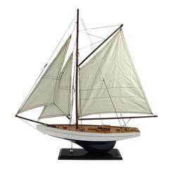 22075 Segelboot blau/weiss 58cm