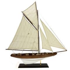 22076  Segelboot Antik 70cm