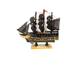 22098 Piraten Boot BLACK PEARL 16cm