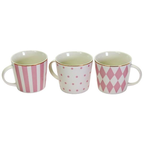 23051  Becher Skipper, blau/weiß,