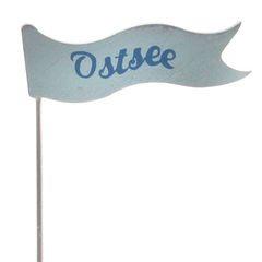 23656 Pick Fahne, OSTSEE, 26,5 cm