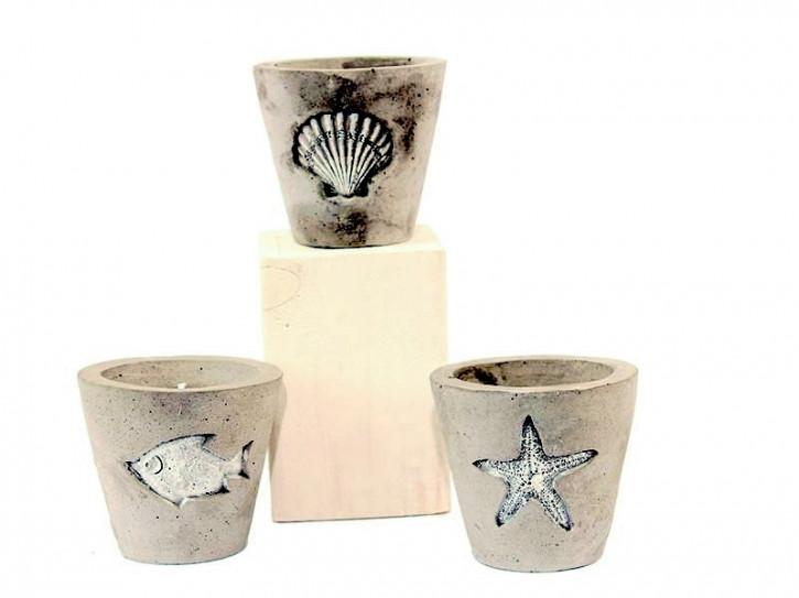 24053 Kerze im Keramik-Glas
