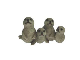 24375 Seehund-Familie in Reihe 10cm