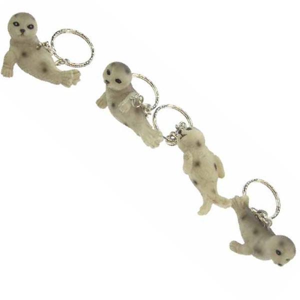 24531  Seehund Schlüsselanhänger 4sor