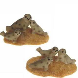 24537 Seehund mit 2 Kinder 6,5cm