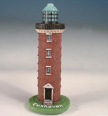24839  Leuchtturm Cuxhaven 5x5x13 cm