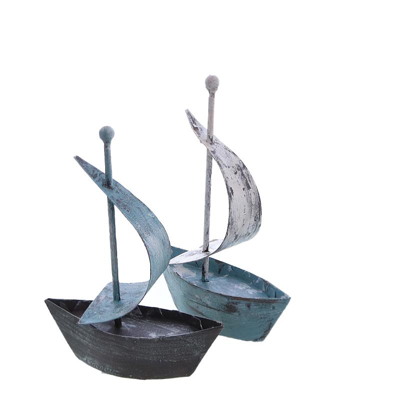 25016 Segelschiff,2x,Metall