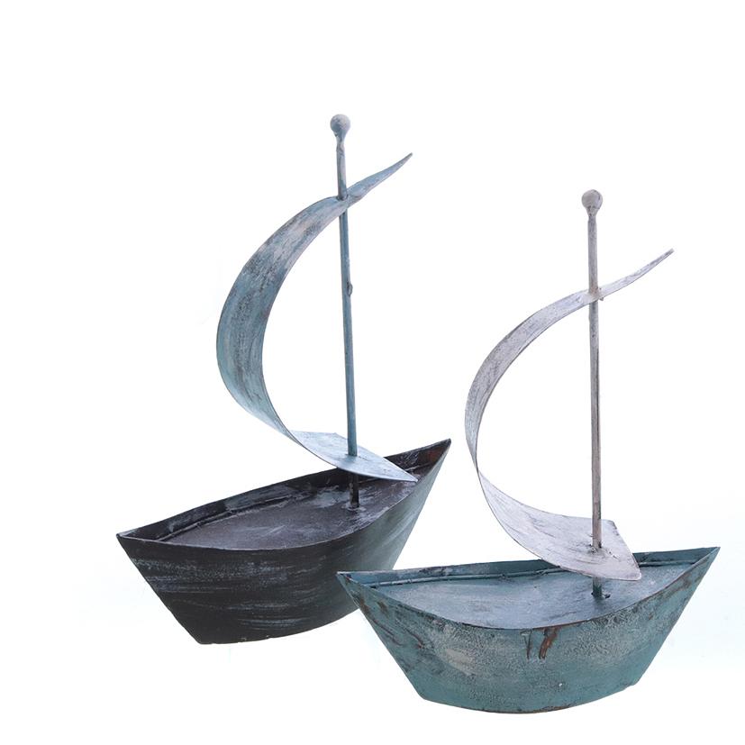 25017 Segelschiff,2x,Metall