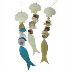 25552  Hänger mit Muscheln und Fisch