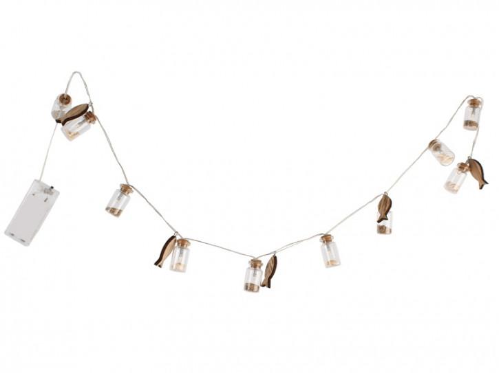 25600 LED Kette 105cm mit Muscheln