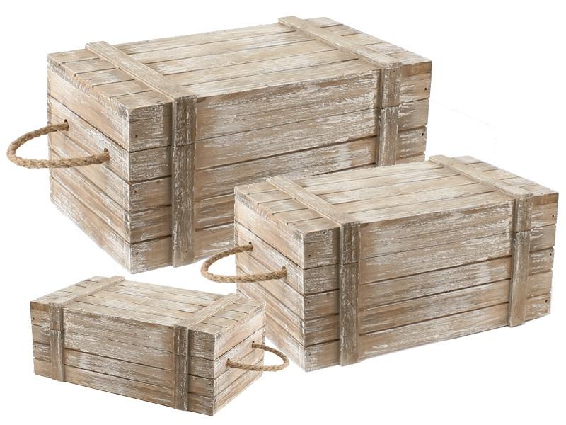 26065 Kisten 3er Set - 24x11,5x14cm