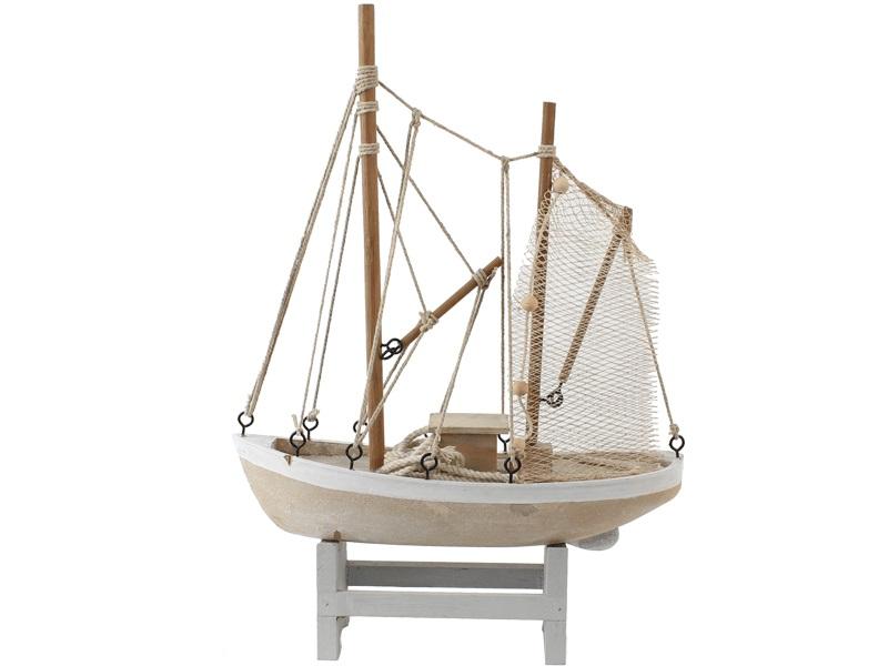 26075 Fischerboot 28x8x38,5cm