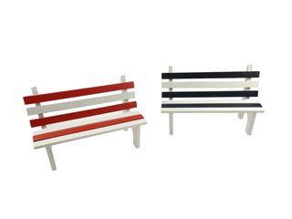 26499  Sitzbank blau/weiß+rot/weiß