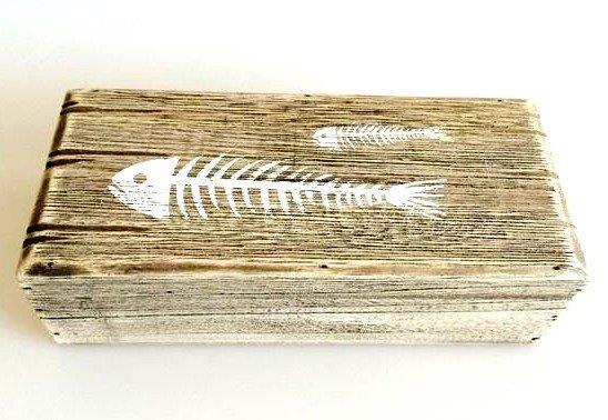 26670  Holz Box 22,5x10x6,5cm