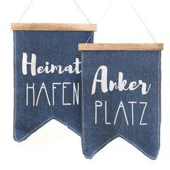 26826  Wimpel Ankerplatz/Heimathafen,