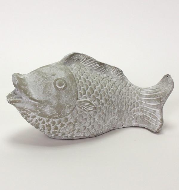 26900  Fisch, grau-weiß