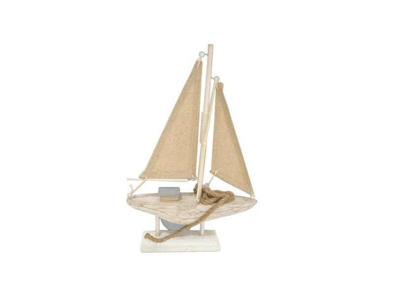 26943 Segelboot 14x3x22cm
