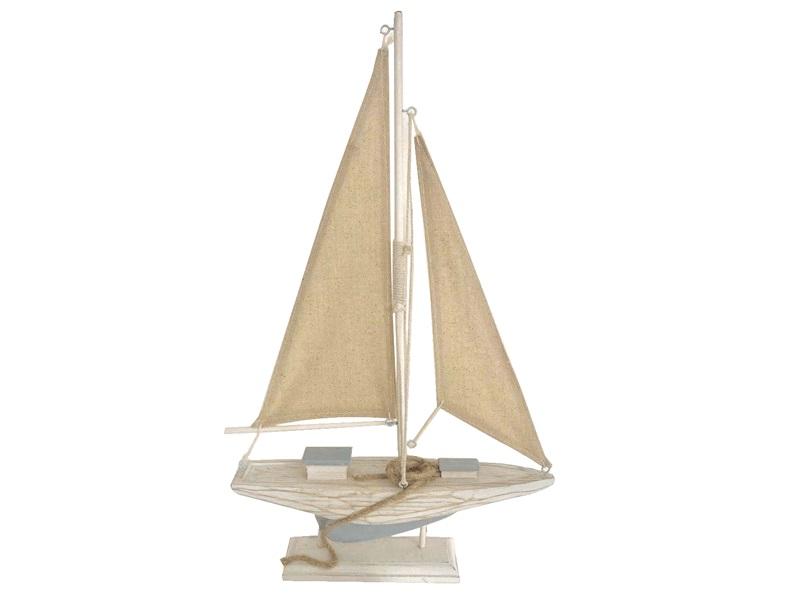 26945 Segelboot 25x5x41,5cm