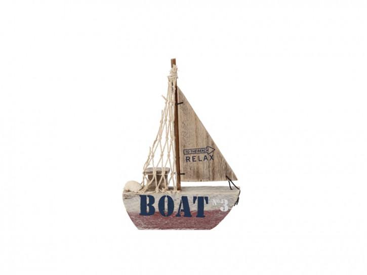 26960 Segelboot Beachline Rot 18cm