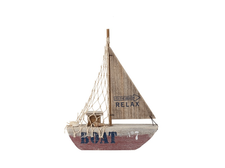 26961 Segelboot Beachline Rot 20cm