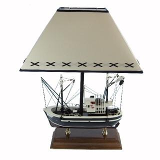 26997 Lampe mit Fischerboot
