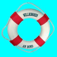27071 Rettungsring 14cm rot/weiß