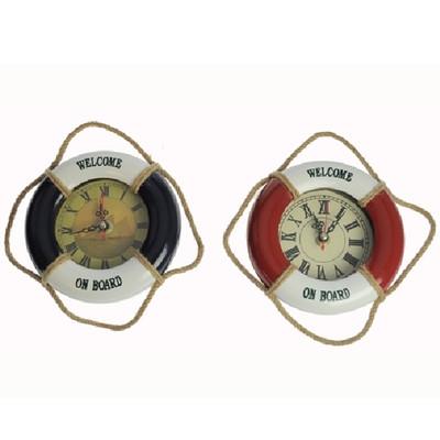 27085 Rettungsring mit Uhr 13,5cm