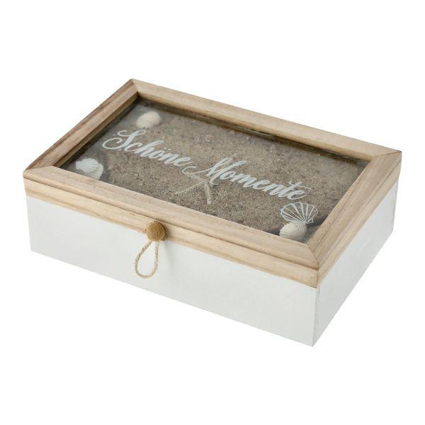 29459  Flasche gefüllt mit Muscheln