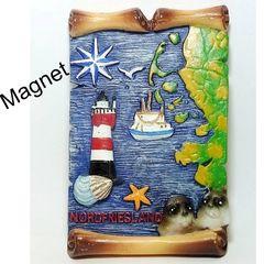 30376 Magnet Pergament Nordfriesland