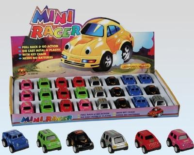 30612  Mini-Modellauto mit Rückzieh-