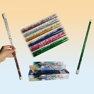 31044 Zauberstab mit Glitter&bunter
