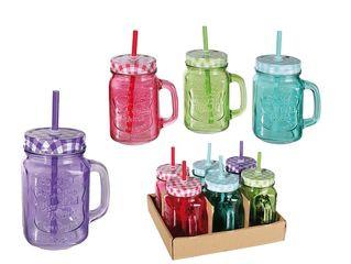 31837 Trinkglas, Einmachglas mit