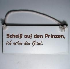 32110  Scheiß auf den Prinzen...Gaul