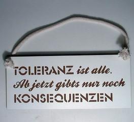 32123  Toleranz ist alle...